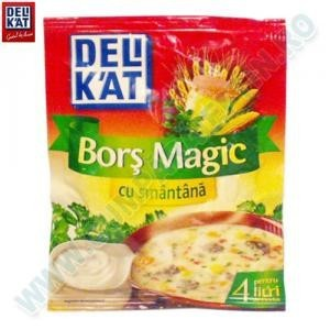 DELIK'AT BORS MAGIC CU SMANTANA